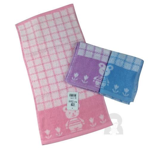 三花毛巾 TL100 - 小熊童巾