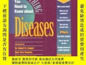 二手書博民逛書店Everything罕見You Need to Know about Diseases-你需要知道的關於疾病的一切