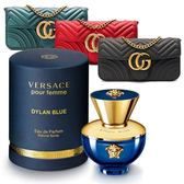 【人文行旅】Versace Pour Homme Dylan Blue 狄倫女神女性淡香精 30ml   韓國翻玩果凍包(顏色隨機)