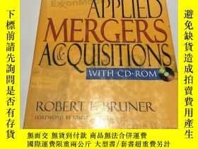 二手書博民逛書店applied罕見mergers acquisitions( 附光盤)Y237539 Robert wiley