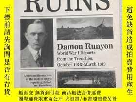 二手書博民逛書店Amid罕見the Ruins: Damon RunyonY19