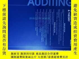 二手書博民逛書店Auditing:罕見A Journal of Practice
