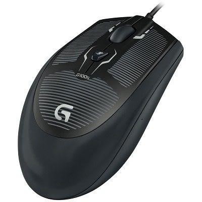 【台中平價鋪】全新 羅技 Logitech G100s 遊戲專用滑鼠 玩家級光學滑鼠