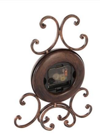 協貿國際居家辦公室時鐘台鍾家居裝飾1入