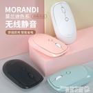 無線滑鼠可充電式 靜音無聲筆記本電腦臺式家用辦公商務游戲適用華為聯想惠普蘋果通用女生可愛