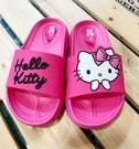 【震撼精品百貨】Hello Kitty 凱蒂貓~台灣Hello kitty正版大童矽膠拖鞋(24~33號)#18192