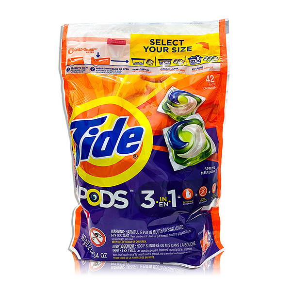 Tide洗衣膠囊-春天草地清香-42顆