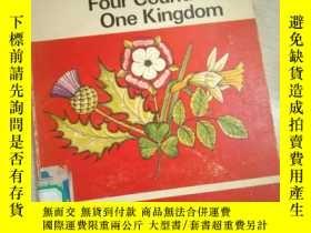 二手書博民逛書店BRITAN罕見Four Countries One Kingdom (英文)Y16149