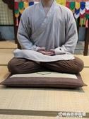 禪修拜佛跪墊磕頭拜墊家用冥想禱告墊禮拜打坐禪墊佛前跪拜大蒲團 時尚WD