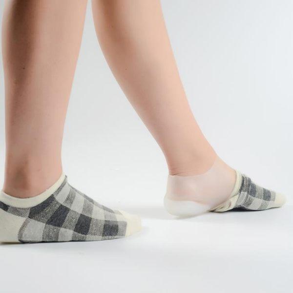 鞋墊襪內隱形內增高休閒面試出口日韓硅膠仿生後跟體檢男女式增高鞋墊【快速出貨八五折】