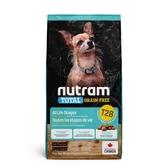 寵物家族-紐頓Nutram-T28無穀迷你犬鮭魚5.4KG