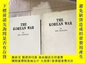 二手書博民逛書店THE KOREAN罕見WAR BY KIM CHUM-KONY