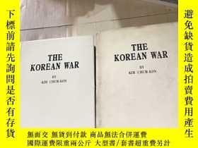 二手書博民逛書店THE KOREAN罕見WAR BY KIM CHUM-KONY