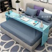 跨床電腦桌烤漆跨床床上雙人電腦桌可移動筆記本臺式書桌床邊學習桌懶人床igo 貝兒鞋櫃