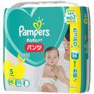 日本 PG Pampers 幫寶適 超薄乾爽 拉拉褲 日本境內 增量版 巧虎 尿布 4-8kg 94片*3包 (S)【6075】