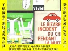 二手書博民逛書店法語小說Le罕見Bizarre Incident du Chie