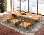 [紅蘋果傢俱]SBE-020 餐桌椅 實木 餐桌 餐椅 簡約 現代 飯桌