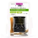 ◇天天美容美髮材料行◇ 日本DRETEC T-307小型計時器-黑 [43002]