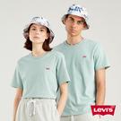 Levis 男款 短袖T恤 / 迷你刺繡Logo徽章 / 湖水綠