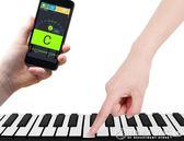 電子軟手卷鋼琴88鍵盤加厚專業版成人便攜式女初學者練習入門折疊    《橙子精品》