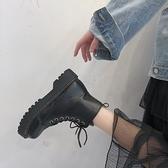 馬丁靴女夏季新款韓版百搭英倫風ins網紅瘦瘦靴平底機車短靴