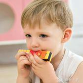 兒童口琴木制玩具寶寶1-3歲女孩初學樂器無毒喇叭幼兒笛子  娜娜小屋