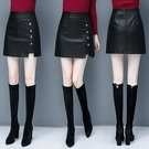 皮裙女潮秋冬2020秋季新款時尚一步半身裙高腰顯瘦a字包臀短裙子 雙十一全館免運