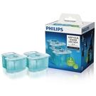 【荷蘭製造 一盒二入裝】PHILIPS JC302 飛利浦電鬍刀智慧型清洗系統專用清潔液