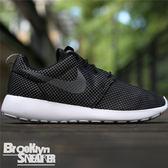 Nike Roshe One 黑白 網面 透氣 慢跑 男女 (布魯克林) 2016/9月 511881-029