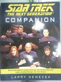【書寶二手書T1/原文小說_QEG】The Star Trek the Next Generation Companion_Nemecek, Larry