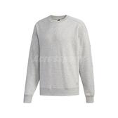 adidas 長袖T恤 S2S Sweatshirt Crew 灰 黑 男款 大學T 運動休閒 【PUMP306】 ED1991