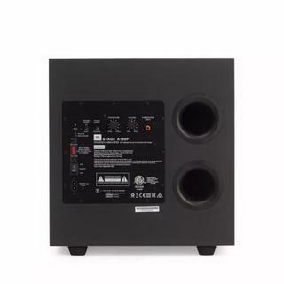 ◆美國 JBL 家庭劇院音響 Stage A100P 超重低音喇叭 10吋 低音震撼飽滿 超高CP值! 黑色~公司貨保固