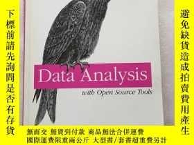 二手書博民逛書店Data罕見Analysis with Open Source Tools:A hands-on guide fo