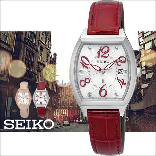 【僾瑪精品】SEIKO LUKIA 大方時尚太陽能女用皮帶腕錶-26mm/V137-0CE0R(SUT289J1)