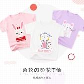 寶寶T恤短袖夏季嬰兒純棉上衣女寶寶兒童短袖打底衫夏裝半袖男童