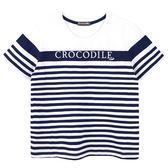 『小鱷魚童裝』條紋圓領上衣(02號~06號)535402