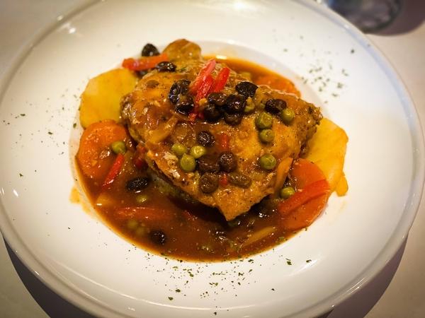 秘魯野菜燉雞 Estofado