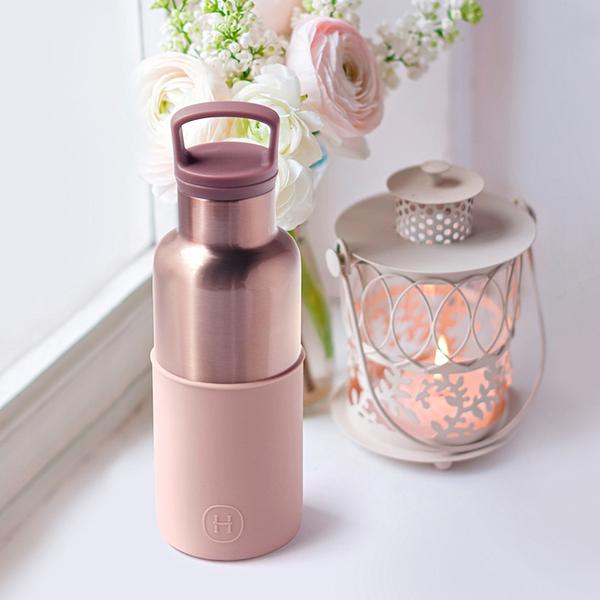 HYDY 拿鐵-蜜粉金瓶 時尚保溫水瓶 480ml