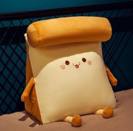 面包三角靠枕飄窗抱枕床頭靠墊靠背臥室床上沙發宿舍學生可拆洗 【米娜小鋪】