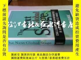 二手書博民逛書店原版精裝護封the罕見next global stage:Cha