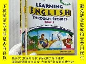 二手書博民逛書店LEARNING罕見ENGLISH THROUGH STORIE