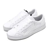 adidas 休閒鞋 Sleek W 白 銀 三葉草 基本款 小白鞋 女鞋 【ACS】 EG7748