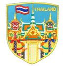 泰國 玉佛寺 曼谷大皇宮 背膠補丁布標 外套刺繡背膠補丁 袖標 布標 布貼 補丁 貼布繡 臂章