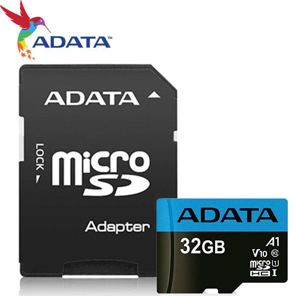 ADATA 威剛 32GB 32G 100MB/s microSDHC TF UHS-I U1 V10 A1 記憶卡