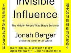 二手書博民逛書店Invisible罕見Influence-無形的影響Y436638 Jonah Berger Simon &a
