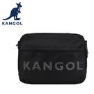 【橘子包包館】KANGOL 英國袋鼠 側背包 斜背包 61251704 黑色 黃色 綠色