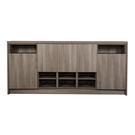 【Arkhouse】伯利恆系列-玄關五門八格左右寬矮鞋櫃 W210*H94*D38