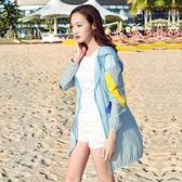 中長款防紫外線韓版海邊沙灘服