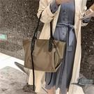 側背包大容量女士包包時尚托特包百搭簡約休閒女包【邻家小鎮】