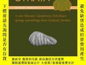 二手書博民逛書店A罕見New Silurian (Llandovery, Telychian) Sponge Assemblage